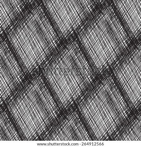 Seamless geometric rhombus vector pattern. - stock vector