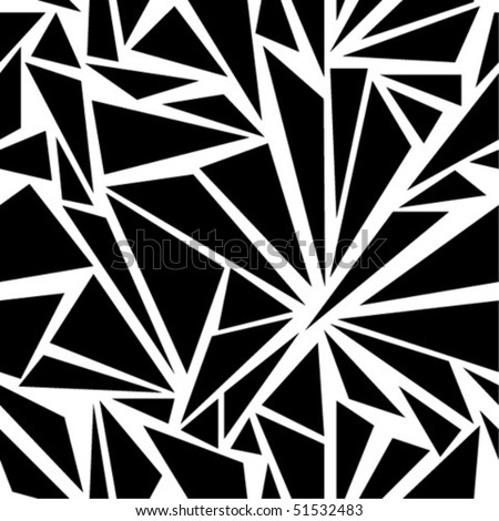 Seamless geometrical background - stock vector