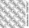 seamless geometrique pattern artwork for t-shirt - stock vector