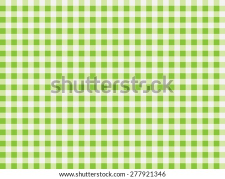 Seamless Gingham pastel green and white check pattern for sewing arts crafts albums  scrapbooks and home decorating - stock vector