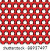 Seamless glossy penguin pattern. EPS10 vector format. - stock photo