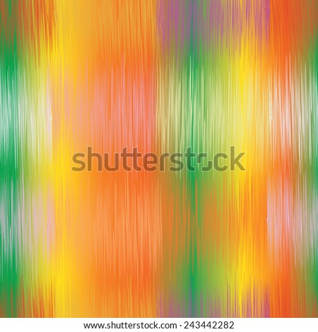Seamless grunge striped bright background in yellow,green,orange colors for web design - stock vector