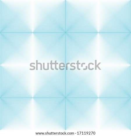 Seamless halftone blue background - stock vector