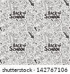 seamless happy kids pattern - stock vector