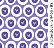 Seamless Heart Pattern vector - stock vector