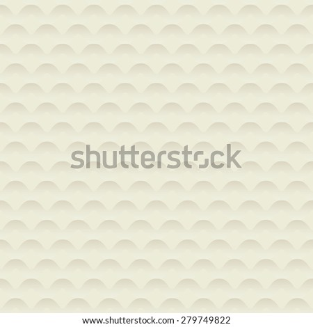 seamless hills abstract background vector illustration - stock vector