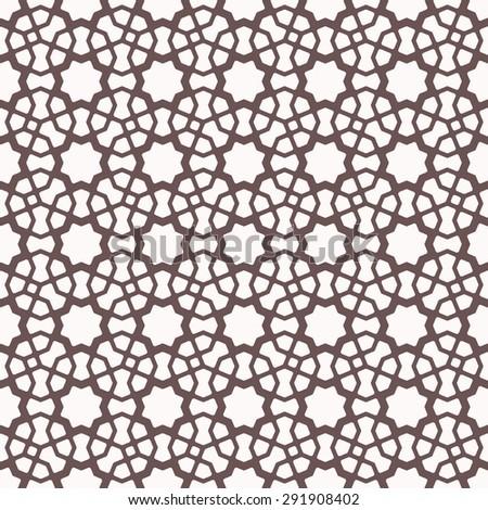 Seamless Islamic Pattern.  - stock vector