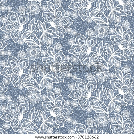 seamless  lace  floral   background.  - stock vector