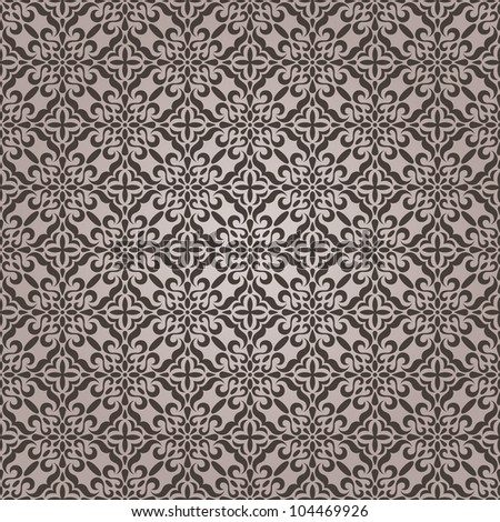 Seamless lace pattern. EPS 8 vector illustration - stock vector