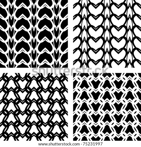 Knitting Stitches Vector : Plain stitches Stock Photos, Images, & Pictures Shutterstock