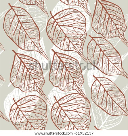 seamless leafy background