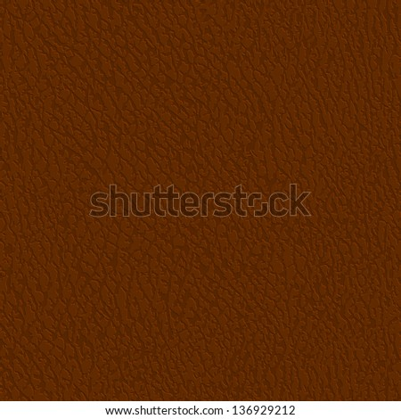 Seamless leather texture - eps10 - stock vector