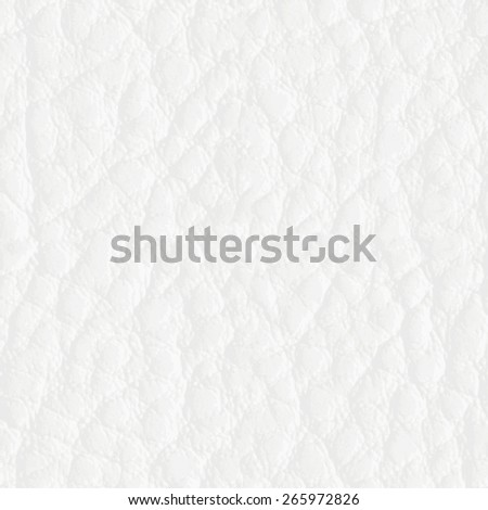 Seamless light leather texture, detalised Vector background - stock vector