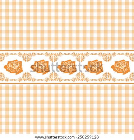 stock-vector-seamless-light-orange-check