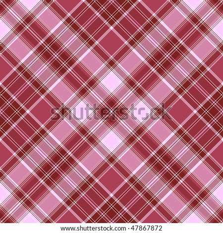 Seamless lilas-pink diagonal checkered pattern (vector EPS 10)