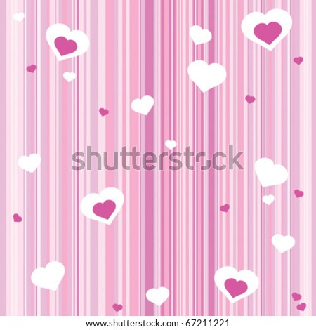 seamless lovely background - stock vector