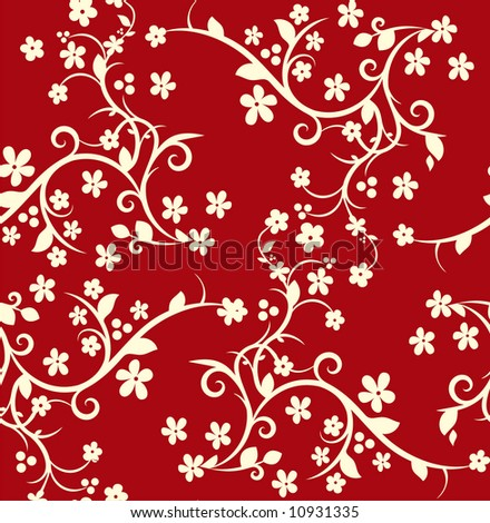 Seamless luxurious pattern - stock vector