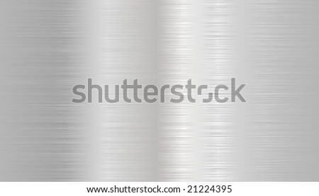 Seamless metal texture background. - stock vector