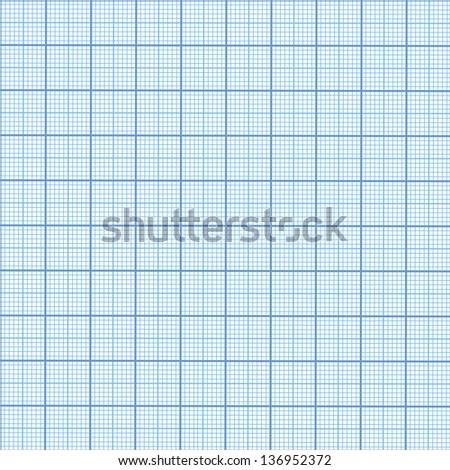 Seamless millimeter paper - stock vector