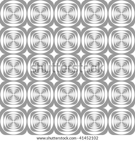 Seamless modern geometric pattern. Vector. - stock vector