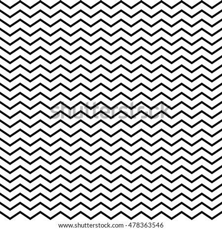 Seamless monochrome geometric triangular pattern. vector illustration elements for design