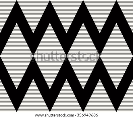 seamless monochrome geometric vector pattern.