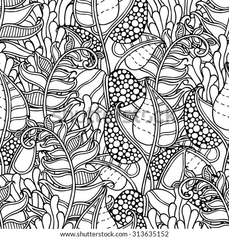 Mis Terys Nature Coloring Book Zentangle And Doodle