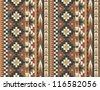 Seamless navajo pattern #2 - stock vector