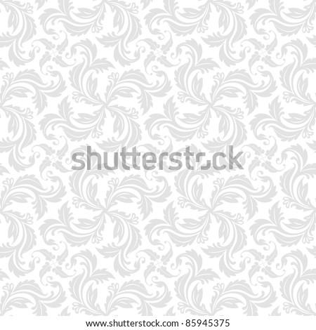 Seamless ornamental pattern - background for continuous replicate. See more seamless backgrounds in my portfolio. - stock vector