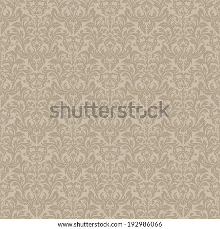 Seamless ornamental pattern for continuous replicate. - stock vector
