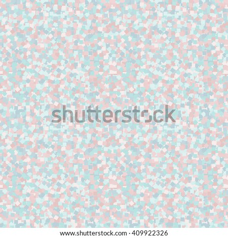 Seamless pastel (pink and blue) confetti texture. Seamless pastel confetti background. Soft gentle backdrop. Perfect for baby theme. Seamless blue wallpaper. Seamless cute patter. Vector illustration. - stock vector