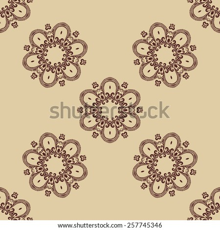 Seamless pattern background. Wallpaper pattern