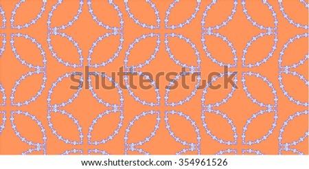 Seamless pattern depicting a summer sentiment - stock vector