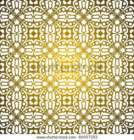 Seamless pattern empire of the sun - stock vector