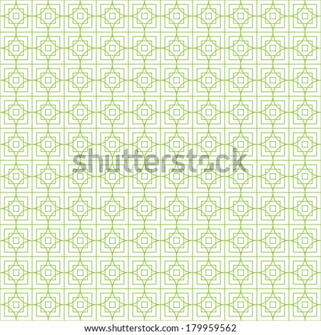 Seamless pattern, for money design, currency, note, cheque, ticket, vector guilloche texture for registration of securities, certificate, or diploma - stock vector