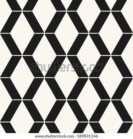 Seamless pattern. Geometric ornament. Stylish background. Vector repeating texture - stock vector