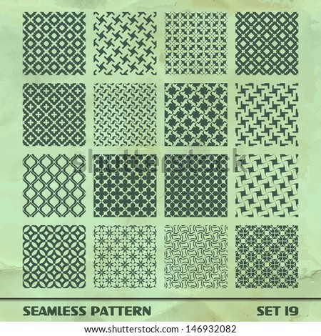 Seamless pattern. Great collection. - stock vector