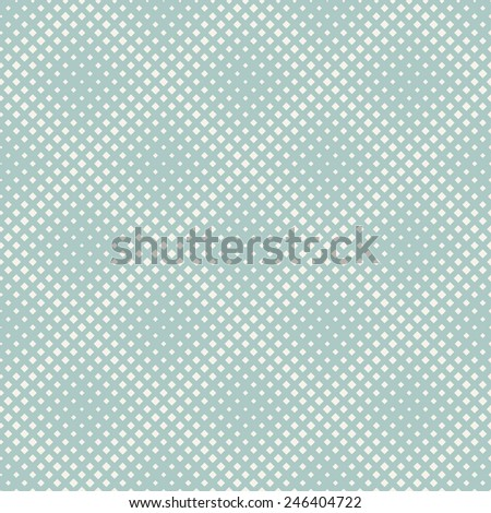Seamless pattern. Halftone texture. Diagonal pastel grid with volume effect - stock vector