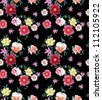 seamless pattern,hawaii flowers,floral pattern, - stock vector
