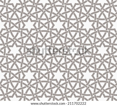 Seamless pattern in islamic style - stock vector