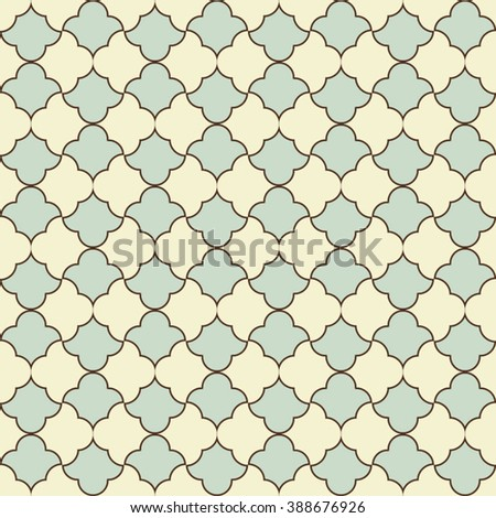 Seamless pattern in islamic style. Vector background