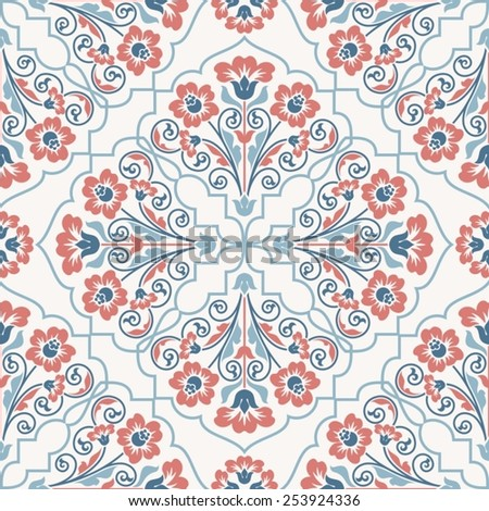 Seamless pattern in vintage stile. - stock vector