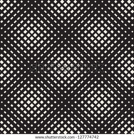 Seamless pattern. Iridescent texture with diagonal dots - stock vector