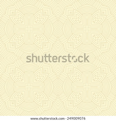 Seamless pattern. Light motif vector background - stock vector