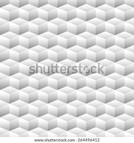 Seamless Pattern made from Cubes - stock vector