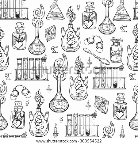 doodle pattern chemistry auto electrical wiring diagram9 isolated doodle cooking oils sketchy stock vector