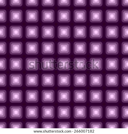 Seamless pattern of colorful optical illusion effect fluorescent purple