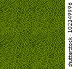 Seamless pattern of green crocodile skin - stock photo