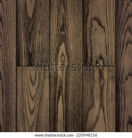 seamless pattern of realistic natural plank wood texture background. vector illustration. - stock vector
