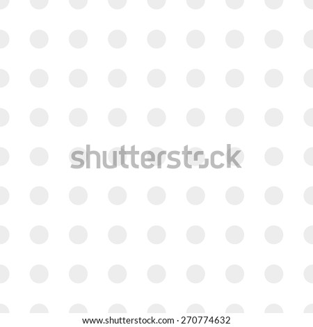 Seamless pattern of repeating the great circle on a white background gray - stock vector